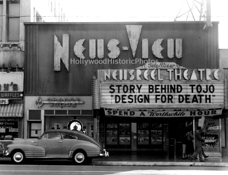 News-View Theatre 1944